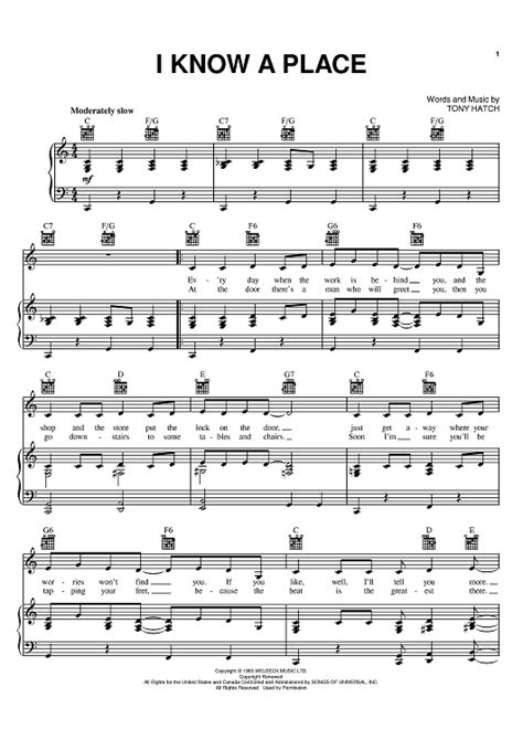A Place Sheet I A Place Sheet For Piano And More Onlinesheetmusic