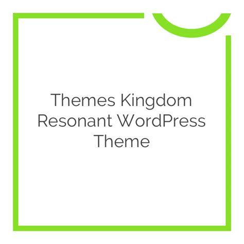 themes kingdom themetick themes kingdom resonant wordpress theme 1 1 2 download