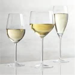 White Wine Vineyard White Wine Glasses Crate And Barrel