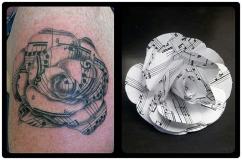 music rose tattoo designs sheet by welcometoreality on deviantart