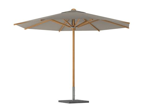 Shady Teak Garden Umbrella Shady Collection By Royal Botania Teak Patio Umbrellas