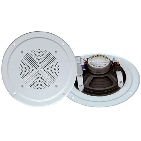 Total Dork Speaker System by Pyle Range In Ceiling Speaker System With Transformer