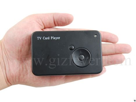 Usb Player For Tv usb tv card player ubergizmo