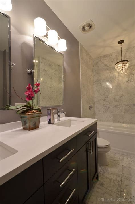 West Chicago Countertops by Bathroom Makeovers Bathroom Chandelier And Quartz