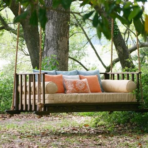 outdoor hanging bed swing 17 best images about porch swing hanging idea on
