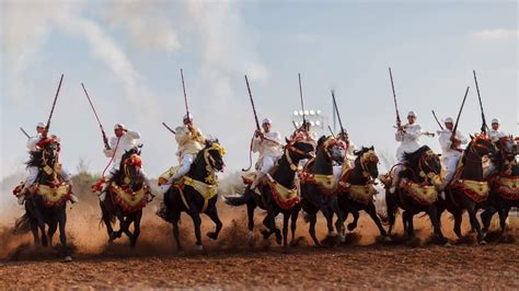 history of celebration fantasia in morocco not to miss celebration of history