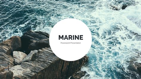 Marine Ppt Templates Free Marine Powerpoint Template By Qiudesigns Graphicriver