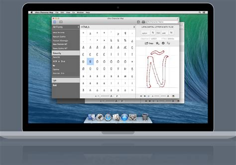 mac character map ultra character map apps typography guru