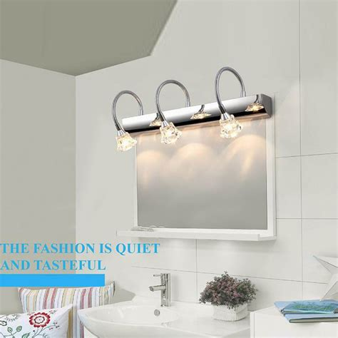 led bathroom mirror light white led mirror light l bathroom wall lights led