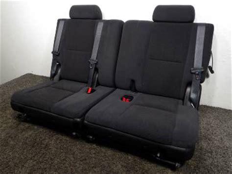 suburban 3rd row seat stuck upright replacement gm oem tahoe suburban 3rd third row cloth