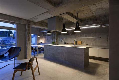 concrete apartments interior design a concrete apartment