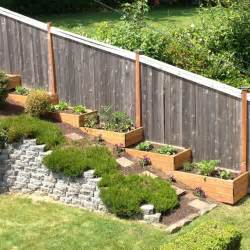 Landscape Ideas For Hillside Backyard Best 25 Tiered Landscape Ideas On Pinterest Rock Wall