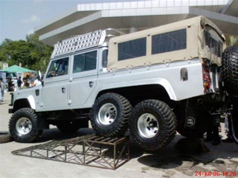 vehicle photos land rover defender 6x6 v8