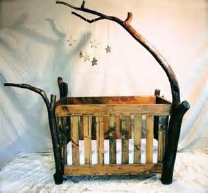 25 best ideas about log crib on rustic baby
