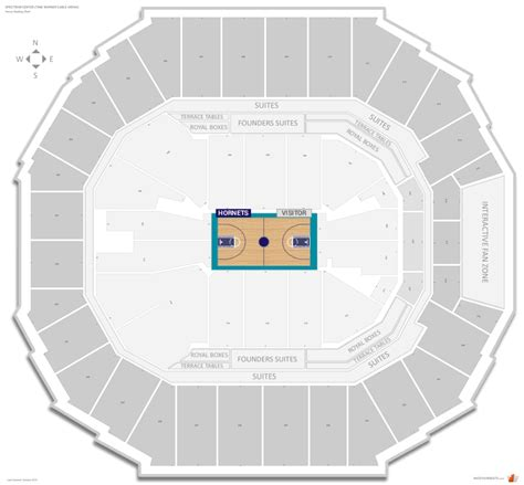 time warner seating chart hornets seating guide spectrum center time