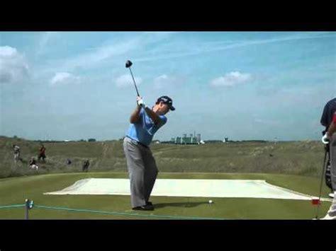 tom watson golf swing sequence tom watson golf swings open practice sandwich kent 2011