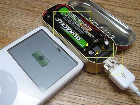diy phone charger mintyboost small battery powered usb charger