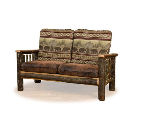 rustic leather sofa and loveseat rustic c loveseat farmhouse and cottage