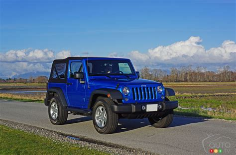 jeep sport car 2016 jeep wrangler sport s a surprisingly refined 4x4