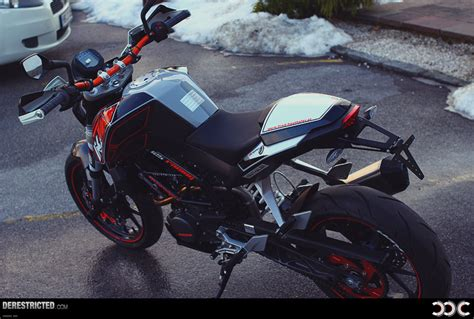 Ktm Powerparts Graphics 2012 Ktm 125 Duke Powerparts Bike Derestricted