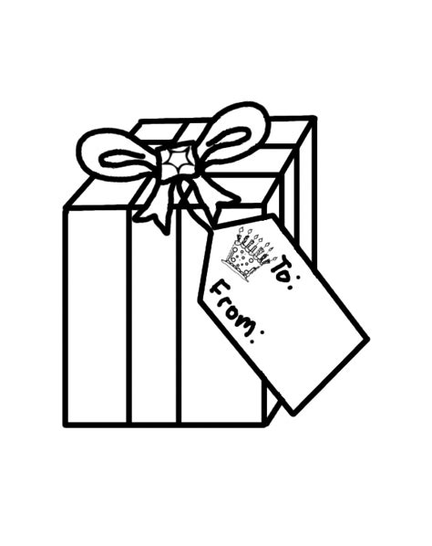 Free Coloring Pages Of Birthday Present Gifts Coloring Pages