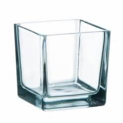 vase cube transparent d 233 co mariage bapt 234 me et soir 233 e 224