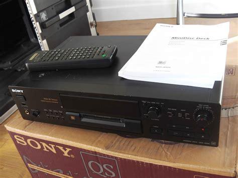 format audio minidisc sony mds jb920 image 582434 audiofanzine