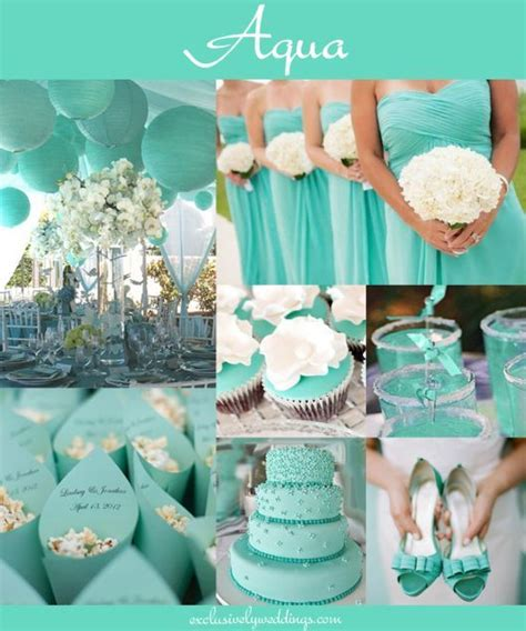 teal wedding colors best 25 aqua blue weddings ideas on teal