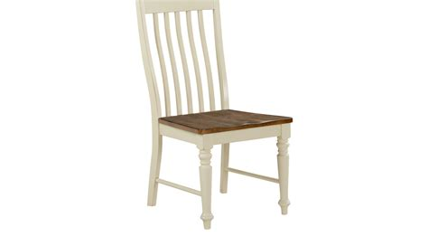 dining room side chairs twin lakes white slat side chair rustic