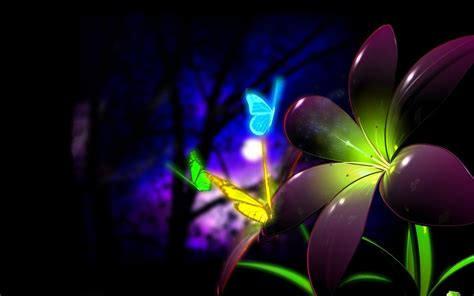 butterflies full hd wallpaper and background image neon butterflies full hd wallpaper and background image