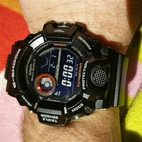 G Shock Gw 9400 Black Orange rangeman black colours