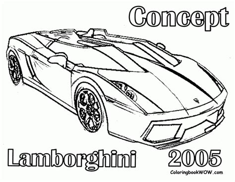 coloring pages of lamborghini az coloring pages