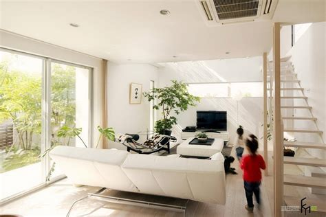 furniture simple modern living room with large potted indoor plant 59 large living room ideas gosiadesign com