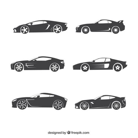 car layout vector car silhouette vectors photos and psd files free download