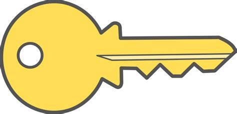 key clipart best key clip 10270 clipartion