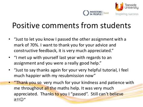 report book comments for students the learning hub at teesside an innovative