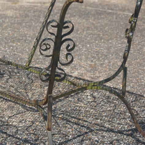 Wrought Iron Patio wrought iron patio dining table ebay