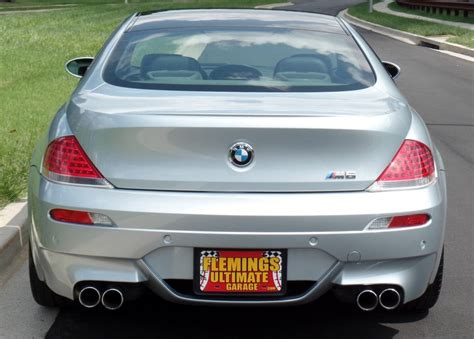 purchase used 2007 bmw m6 manual transmission all options 36k trouble free carbon fiber wow 2007 bmw m6 2007 bmw for sale to purchase or buy flemings ultimate garage classic muscle