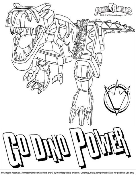 power rangers dino charge megazord coloring pages power rangers coloring picture
