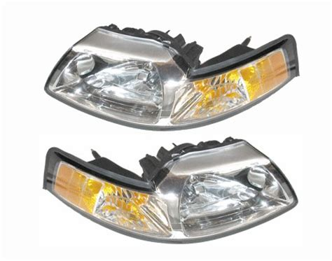 headlights for 2000 mustang ford mustang headlight assemblies at auto parts
