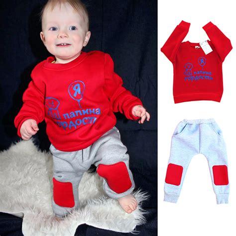 Set Dress Kid Natal 2017 baby boy clothes winter warm children children s clothing child boys