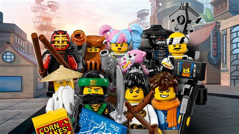 ninjago film the lego 174 ninjago 174 movie 71019 lego 174 minifigures