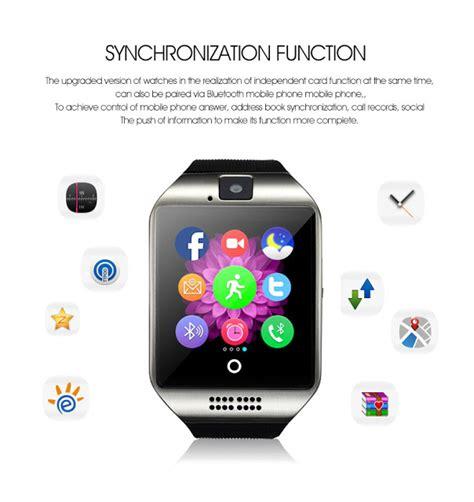 Smartwatch Berkamera Q18 Smartwatch Berkamera Dengan Dukungan Kartu Gsm Cuma