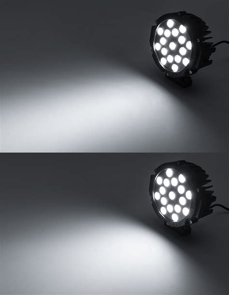 round led lights photography off road led work light led driving light 6 quot round 39w