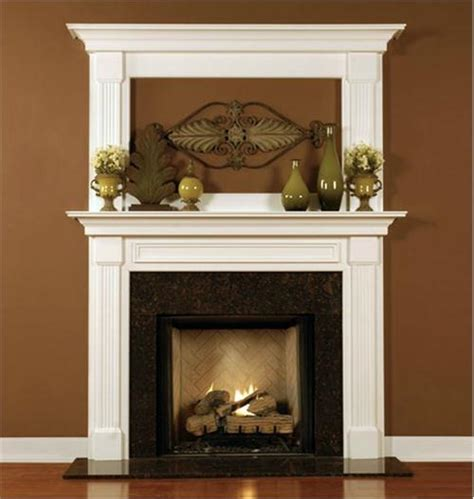 the leesburg wood fireplace mantel from design the space