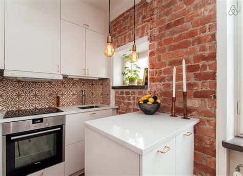 tiny corner kitchen in earth tones cool kitchens 18