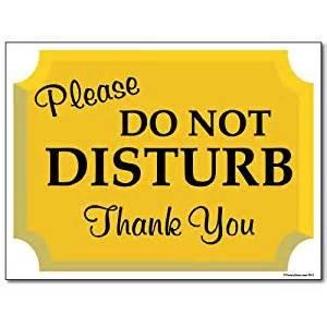 Free Kitchen Design Software Uk 18 Quot X 24 Quot Corrugated Plastic Sign Do Not Disturb Sign