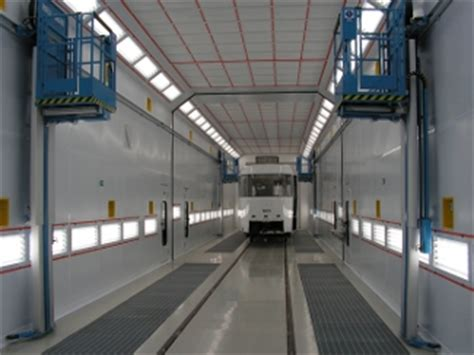 boat paint booth industrial downdraft paint booth