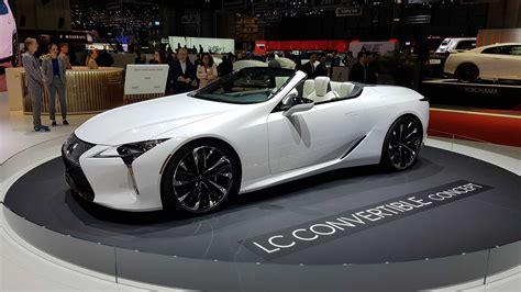 2019 Lexus Convertible by Lexus Lc Convertible Concept Revealed Car Magazine