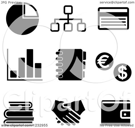 free black and white business clipart jaxstorm realverse us